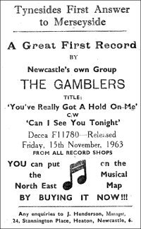 Billy Fury Gamblers The Hippy Hippy Shake